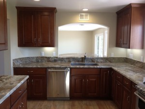 Completed Solana Beach Kitchen Remodel