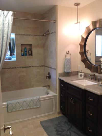 La Mesa CA bathroom remodel