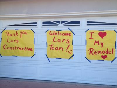 thank you lars remodeling