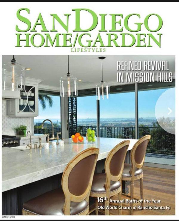 San Diego Home Garden Magaize Cover
