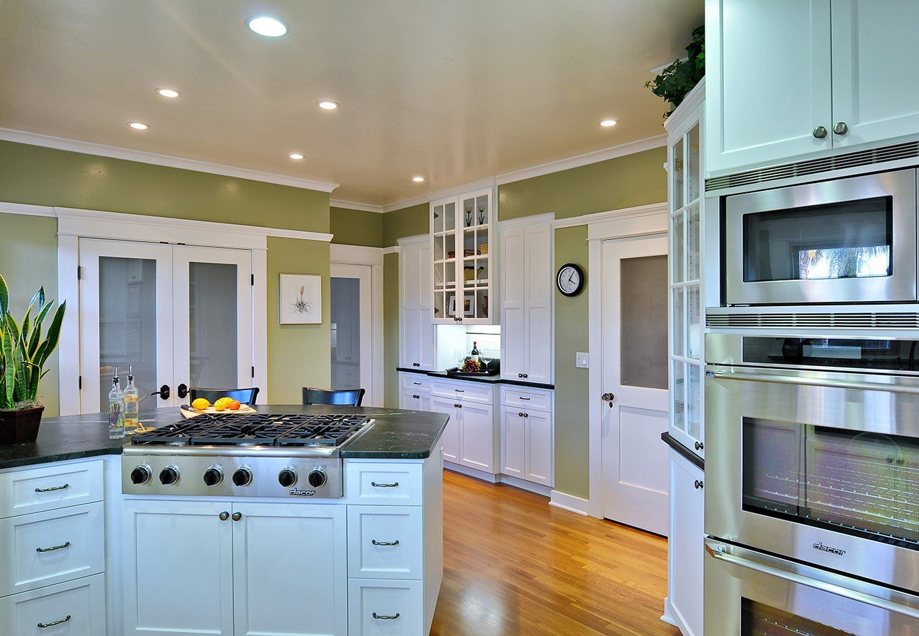 transitional designer kitchen - lars remodel
